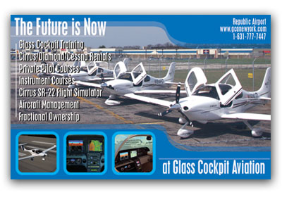 Zartwork Designs - Glass Cockpit Aviation Ad