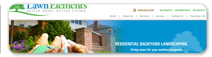 Zartwork Designs - Lawn Elements Web Design